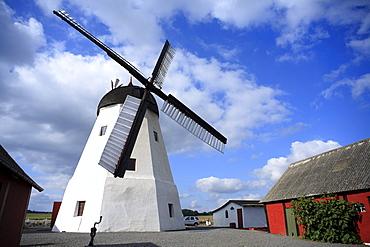 Windmill in Arsdale, Bornholm, Denmark, Europe
