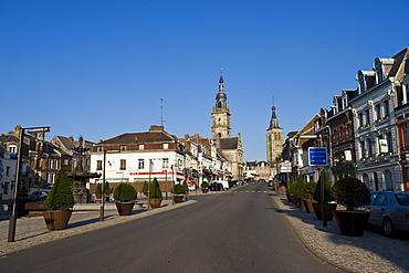 Le Cateau de Cambresis, rue Charles Seydoux, Nord Pas-de-Calais, Normandy, France, Europe, PublicGround