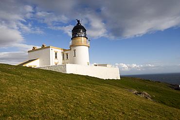 Lighthouse, Point Stoer, Stoer, Scotland, United Kingdom, Europe
