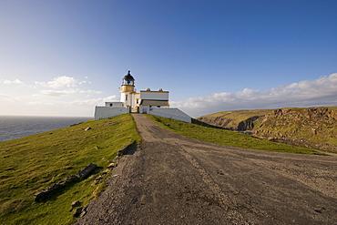 Lieghthouse, Point Stoer, Stoer, Scotland, United Kingdom, Europe