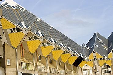 Blaakse Bos, cube housing, Rotterdam, South Holland, Holland, Netherlands, Europe, PublicGround