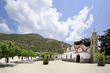Moni Skiadi monastery, Rhodes, Greece, Europe