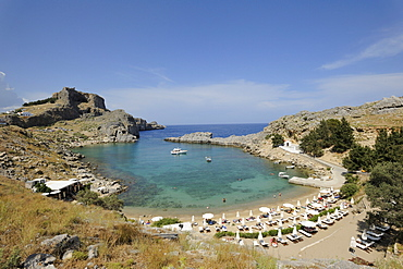 Apostle Paul's Bay, Agios Pavlos Bay, Lindos, Rhodes, Greece, Europe