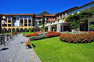 Hapimag Hotel, Lago Maggiore lake, Cannero Riviera, Piedmont, Italy, Europe