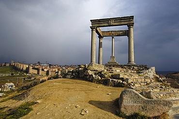 Los cuatro postes, The four poles, Avila, Castilla-Leon, Spain, Europe