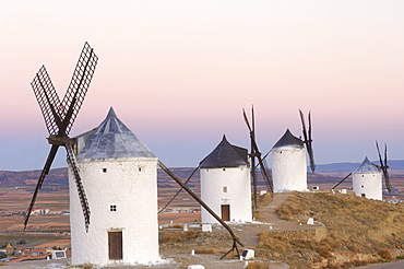Windmills, Consuegra, Toledo province, Route of Don Quixote, Castilla-La Mancha, Spain, Europe