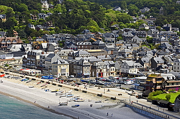 etretat, Cote d'Albatre, Haute-Normandie, Normandy, France, Europe