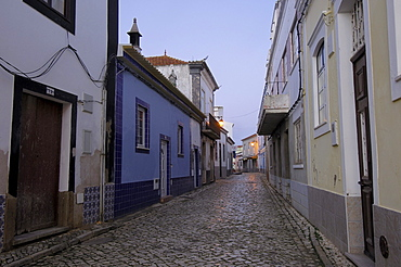 Alleyway, Ferragudo, Algarve, Portugal, Europe