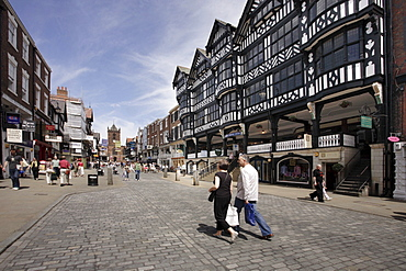 Bridge Street, Chester, England, United Kingdom, Europe