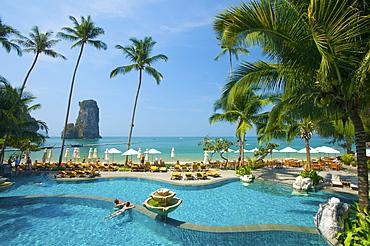 Pool of the Centara Resort, Krabi, Thailand, Asia