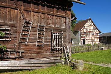 Swabian Farm Museum, Illerbeuren, Upper Swabia, Allgaeu, Bavaria, Germany, Europe