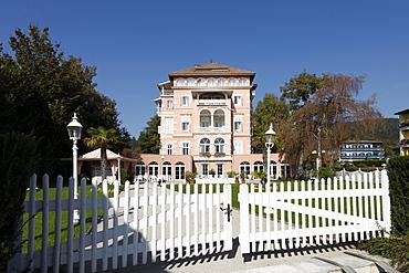 Mansion in Poertschach am Woerther See, Lake Woerth, Carinthia, Austria, Europe