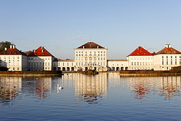 Schloss Nymphenburg Palace, Munich, Upper Bavaria, Bavaria, Germany, Europe