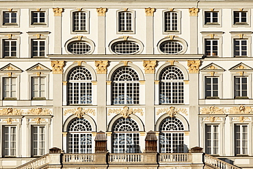 Schloss Nymphenburg Palace, east front, Munich, Upper Bavaria, Bavaria, Germany, Europe