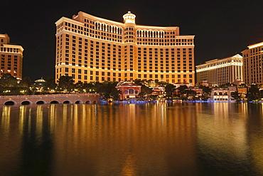 Hotel Bellagio, Bracken, Las Vegas, Nevada, USA, North America