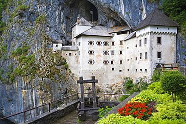 Predjama Castle, Predjamski Grad, near Postojna, Inner Carniola, Slovenia, Europe