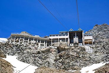 Rifugio Torino, Funivie Monte Bianco, Mont Blanc funicular, Mont Blanc Massif, Alps, Italy, Europe
