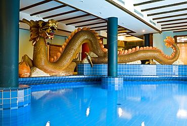 Phantasialand Hotel LING BAO, pool, Bruehl, Nordrhein-Westfalen, Germany, Europe