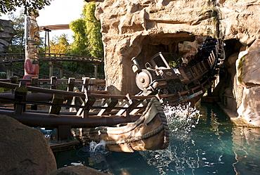 Phantasialand theme park, theme park, MEXICO, COLORADO ADVENTURE attraction, roller coaster, Bruehl, Nordrhein-Westfalen, Germany, Europe