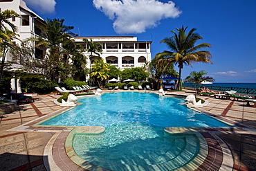 Zanzibar Serena Inn, the leading hotel in Stone Town, Zanzibar, Tanzania, Africa