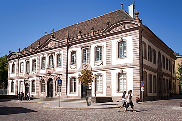 Conseil Souverain, supreme judicial authority and the Parliament of Alsace, now the seat of the provincial court, built by the architects Chassain and de Rungs, Colmar, Alsace, France, Europe