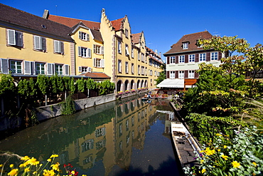 Historic town centre of Colmar, Colmar, Alsace, France, Europe
