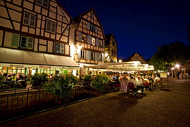 Historic centre, Place de l'Ancienne Douane - Colmar, Colmar, Alsace, France, Europe