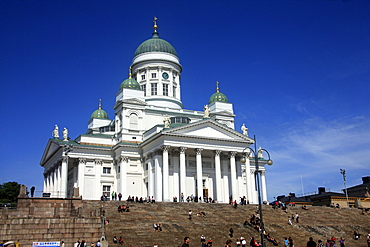 Cathedral and Senate Square, Helsinki, Finland, Europe