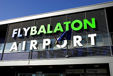 Flybalaton, Balaton West Airport in Sarmellek, Lake Balaton, Balaton, Hungary, Europe