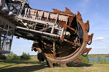 Big Wheel bucket-wheel excavator, Ferropolis, City of Iron, Saxony-Anhalt, Germany, Europe