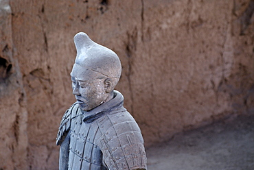 Terracotta army, part of the grave complex, hall 1, mausoleum of the 1st Emperor Qin Shi Huang in Xi'an, Shaanxi Province, China, Asia