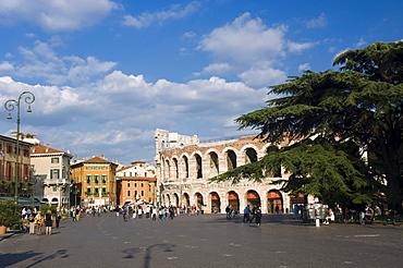 Arena di Verona, Piazza Bra, Verona, Veneto, Italy, Europe
