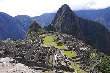 Machu Picchu, Inca settlement, Quechua settlement, Peru, South America, Latin America