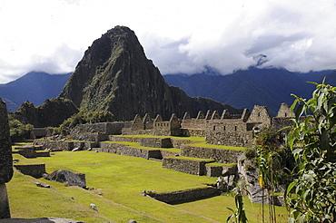 Prinzipial plaza, main square, Inca settlement, Quechua settlement, Machu Picchu, Peru, South America, Latin America