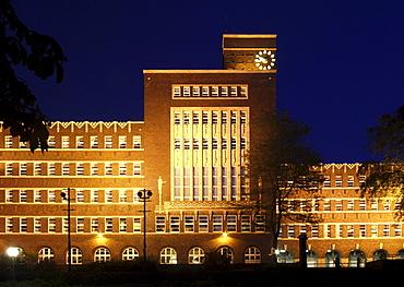 Town Hall, Oberhausen, Ruhr area, North Rhine-Westphalia, Germany, Europe