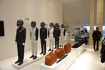 Aston Martin shop on Ring Boulevard of the newly designed Nuerburgring race track, Rhineland-Palatinate, Germany, Europe