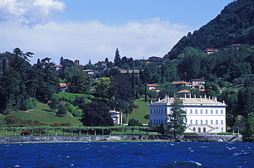 Villa Melzi d'Eril in Bellagio, garden, Lake Como, Upper Italian Lakes, Lombardy, Italy, Europe