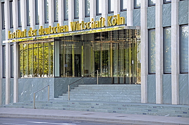 Institut der deutschen Wirtschaft, Institute of German Economy, Economic Research Institute, moved from the south into the center of the city in August 2009, Cologne, North Rhine-Westphalia, Germany, Europe
