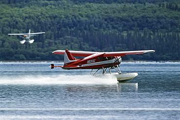 Sea planes, Katmai Nationalpark, Alaska, USA
