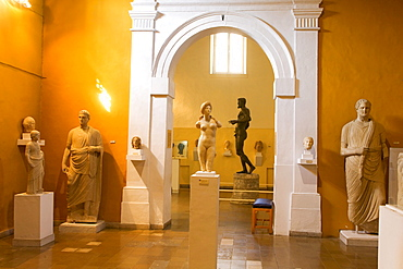 Archaeological Museum of Cyprus, statue of Aphrodite, Nicosia, Cyprus, Greece, Europe