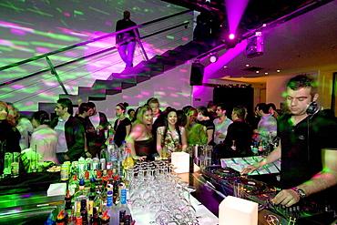 Trendy disco Zoo, dj, disc jockey, Nicosia, Cyprus, Greece, Europe