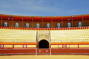 Bullring, bullfighting, arena, Monovar, Alicante, Spain, Europe