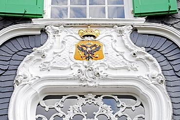 Crest, Haus Cleff house, Heimatmuseum museum for local history, historical center, Haste, Remscheid, Bergisches Land region, North Rhine-Westphalia, Germany, Europe