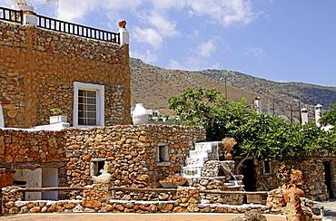 Lychnostatis Open Air Museum, Museum of Cretan Traditional Life, Hersonissos, Crete, Greece, Europe