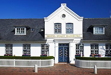 """Hotel """"Stadt Hamburg"""" in Westerland, Sylt island, Schleswig-Holstein, Germany, Europe"""