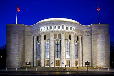 Volksbuehne Theatre, Rosa-Luxemburg-Platz, Mitte, Berlin, Germany, Europe