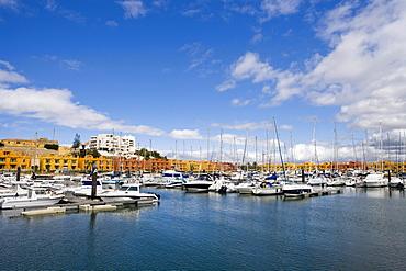 Marina of Portimao, Algarve, Portugal, Europe