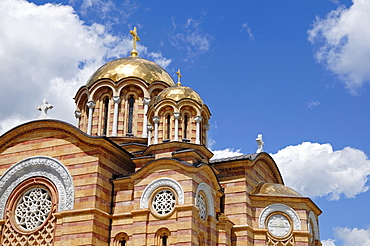 Orthodox church in the centre of Banja Luka, Bosnia and Herzegovina, Europe