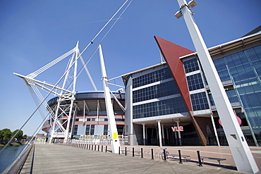 Millennium Stadium sports centre, Cardiff, Wales, United Kingdom, Europe