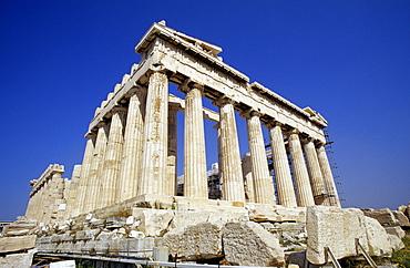 Parthenon on the Acropolis, Athens, Greece, Europe